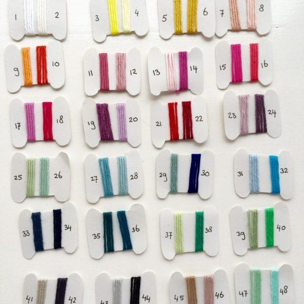 kleuren labels